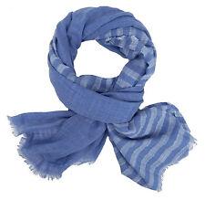 SCIARPA uomo blu by Ella Jonte scialle in cotone viscosa Casual Nuova stagione New in