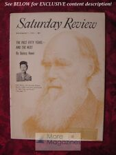 SATURDAY REVIEW November 7 1953 RUTH MOORE EVOLUTION QUINCY HOWE