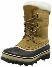 Sorel Women's 1964 Pac 2 Snow Boots Brown (280 Buff Black) 5 UK NEW
