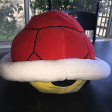 "Red Koopa Shell Pillow (1399) Nintendo 16"" Super Mario Little Buddy Plush *RARE"