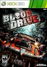 Blood Drive RE-SEALED Microsoft Xbox 360 GAME BD