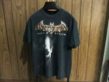 Batman Arkham Asylum shirt The Joker is on the front large black video game