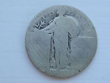 90% Silver Standing Liberty Quarter Coin Minted in the United States of America