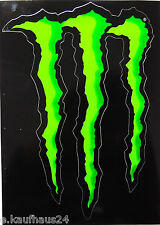 Aufkleber MONSTER ENERGY Kralle Motorsport Sponsor Roller Motorrad Sticker Decal