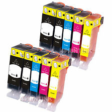 10 PACKS PGI225 CLI226 INK For Canon PIXMA MG5120 MG5220 w/Chip