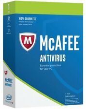 McAfee AntiVirus Plus 2017- 2 PC -1 Year Subscription