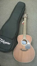 Takamine Taka-Mini GX11ME-NS electro acoustic Travel Guitar Including Gig Bag,