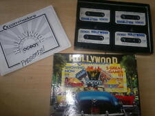 Hollywood, Games Inc Rambo 3, Miami Vice y más _ para Commodore 64_Boxed,