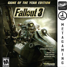 Fallout 3 Game of the Year Edition GOTY - STEAM PC Game - NO CD