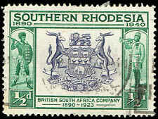 Scott # 56 - 1940 - ' Seal of British South Africa Co. '