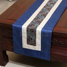 New Fashion Chinese Handmade Vintage Noble Silk Table Runner Cloth Bed Flag