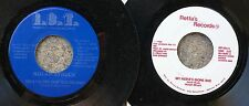 SOUL/BLUES 45 LOT of 2: NOLAN STRUCK Welfare Problems, My Nerve's Gone Bad