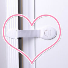 10pc Kids Child Baby Proof Door Fridge Cupboard Cabinet Drawer Safety Catch Lock