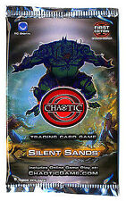 40x Chaotic Trading Card Game TCG Silent Sands Booster Pack