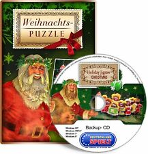 Weihnachts-Puzzle - Holiday Jigsaw Christmas - PC - Windows XP/VISTA/7/8/10