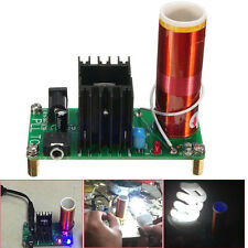 Mini Tesla Coil Plasma Speaker Kit Electronic Field Music 15W DIY Project DE