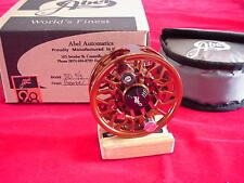 Abel Fly Reel New Sealed Disc Drag 4/5 Reel in BRONZE GREAT NEW