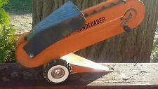 Vintage 1960s STRUCTO Sandloader for Dump Truck Pressed Steel Toy Vehicle Orange