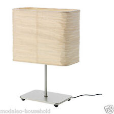 NEW IKeA MAGNARP TABLE LAMP - 30CM TALL - NATURAL PAPER SHADE-B111
