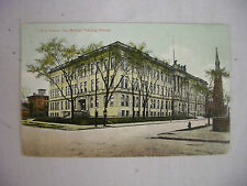 VINTAGE POSTCARD THE MANUAL TRAINING CENTER IN FORT WAYNE INDIANA 1910