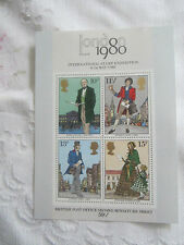 G B 1979 MINT N H SECOND EVER MINI SHEET S G MS 1099  ROWLAND HILL.173