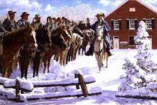 """""""Taking the Oath"""" Bradley Schmehl Civil War Print - John S. Mosby"""