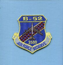 BOEING B-52 STRATOFORTRESS 2500 Hours USAF Reserve SAC BS Bomber Squadron Patch