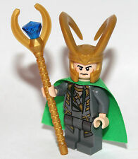 GENUINE LEGO MARVEL SUPERHEROES - LOKI MINIFIGURE - 10721 - 2016