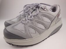 MBT Sport 2 Gray Lace Up Walking Toning Shoes Sz 10