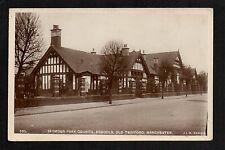 Manchester - Old Trafford, Seymour Park School - real photographic postcard