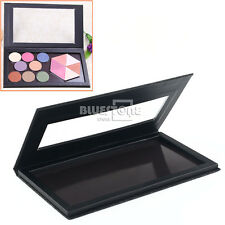 "Empty Magnetic Makeup Palette DIY Eyeshadow Palette 9.8"" Large Size Black"
