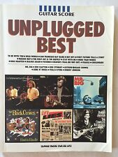 Japanese Guitar Score Book UNPLUGGED BEST GUITAR TAB  Japan limited MR.BIG F/S