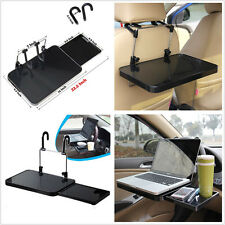 Portable Car Laptop/Eating Steering Wheel Tray Table Desk with Drawer Foldable
