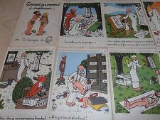 catalogue / pochette comment on a commencé a s'enrhumer de Jean Effel ( ref 3
