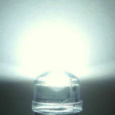 50 PCs 1W 8mm 140° StrawHat White LED 240,000mcd@300mA