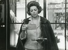 ANNE VERNON LES PARAPLUIES DE CHERBOURG JACQUES DEMY 1964 PHOTO ORIGINAL #1
