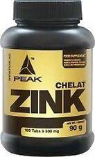 Zink-Chelat Peak 540 Tabs dreifache Menge