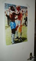 Pele and Bobby Moore 1970 World Cup Door Poster