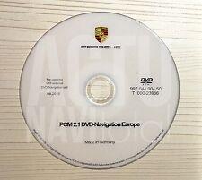 DVD PORSCHE PCM 2.1 Versión 2015/2016 MAPAS EUROPA