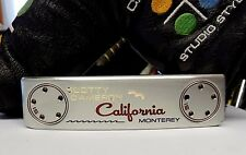 Scotty Cameron California Monterey Putter + Head Cover & Super Stroke Grip