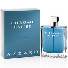 Azzaro Chrome United For Men EDT 3.4oz / 100ml New in Sealed Box ✲Free Shipping✲