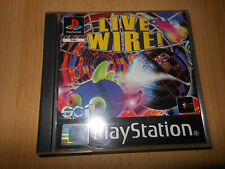 LIVE WIRE! - PlayStation Game - Sony - PAL - PS1 - MINT COLLECTORS