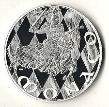 MONACO Médaille en ARGENT 1297-1997, 700 ans de la dynastie des GRIMALDI !