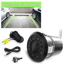 New PLCM12 Car Rearview Waterproof Backup Camera w/Distance Scale Line /LED Ligh