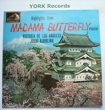 ASD 609 - PUCCINI - Madame Butterfly highlights DE LOS ANGELES - Ex LP Record