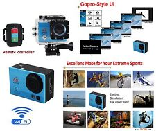 """Q3H-1 4K Action Extreme Sports WiFi Camera Waterproof 2.0""""LCD Comcorder As Gopro"""