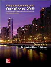 Computer Accounting with QuickBooks 2015 with Student Resource CD-ROM