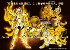 Bandai Saint Seiya Cloth Myth God EX Soul of Gold Leo Aioria Bonus Action Figure