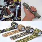 Elastic Camouflage Waterproof Outdoor Hunting Camping Stealth Camo Wrap Tape I5#