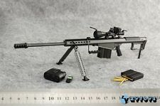 """ZY Toys 1/6 Soldier Weapon Model Barrett M107A1 SASR Sniping Rifle F 12"""" Figure"""
